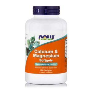 Ασβέστιο-Μαγνήσιο-120-μαλακές-κάψουλες-733739012517-Orange-Bio