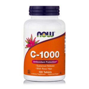Βιταμίνη-C-Βραδείας-Αποδέσμευσης-100-Ταμπλέτες-733739006806-Orange-Bio