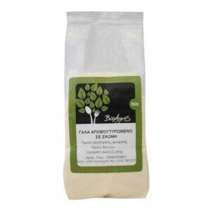 Γάλα αποβουτυρωμένο σε σκόνη, 250γρ, Βιοαγρός, Orange Bio