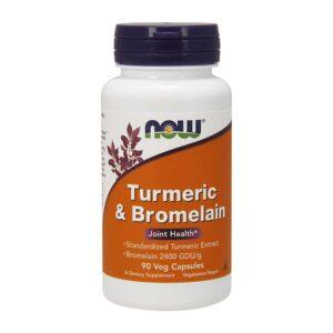 Κουρκουμάς-Βρωμελαΐνη-90-veg-κάψουλες-733739031105-Orange-Bio