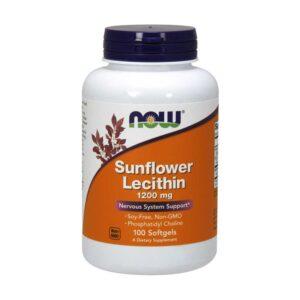Λεκιθίνη-Ηλίανθου-100-Μαλακές-Κάψουλες-733739023117-Orange-Bio