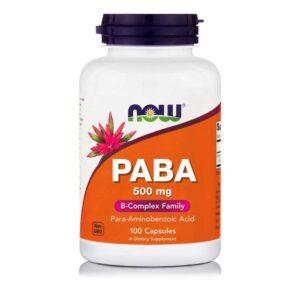 PABA-100-Κάψουλες-733739004857-Orange-Bio