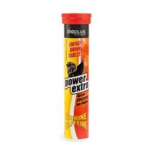 Power-Extra-ταυρίνη-καφεΐνη-20-αναβράζοντα-δισκία-Inoplus-Orange-Bio