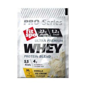 Ultra-Premium-Whey-Protein-Blend-Πρωτεΐνη-ορού-γάλακτος-σε-σκόνη-γεύση-παγωτό-βανίλια-30γρ-Fitspo-Orange-Bio