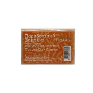 Παραδοσιακό-σαπούνι-πορτοκάλι-100gr-Bellas-Orange-Bio