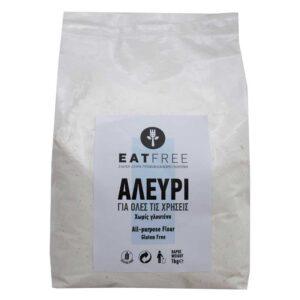 Αλεύρι για όλες τις χρήσεις χωρίς γλουτένη 1kg eatfree orange bio