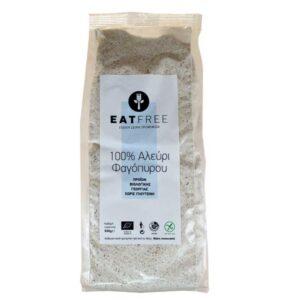 Αλεύρι φαγόπυρου χωρίς γλουτένη 500gr eatfree orange bio