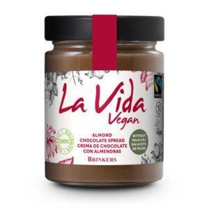 Επάλειμμα σοκολάτας & αμύγδαλο χωρίς γλουτένη, 270gr, la vida, orange bio