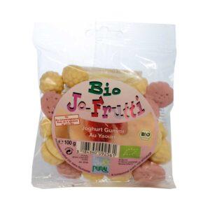 Ζαχαρωτά με γιαούρτι χωρίς γλουτένη, 100gr, pural, orange bio
