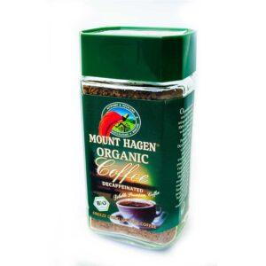 Καφές στιγμιαίος ντεκαφεϊνέ, 100gr, mounthagen, orange bio