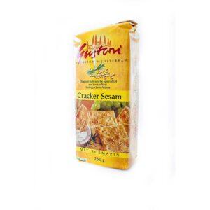 Κράκερ σουσαμιού, 250gr, gustoni, orange bio