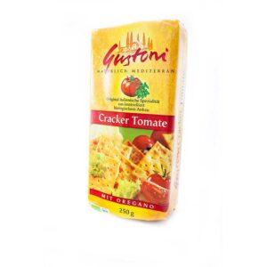 Κράκερ τομάτας, 250gr, gustoni, orange bio