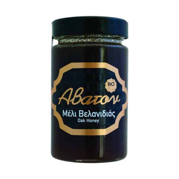 Μέλι βελανιδιάς, 400gr, abaton, orange bio