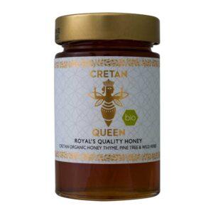 Μέλι θυμαρίσιο με άγρια βότανα, 250gr, cretan queen, orange bio