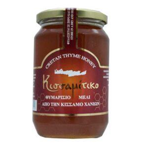 Μέλι-θυμαρίσιο,-450gr,-Κουφάκης,-Orange-Bio