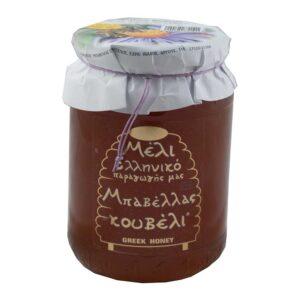 Μέλι κουβέλι, 480gr, Μπαβέλας, orange bio