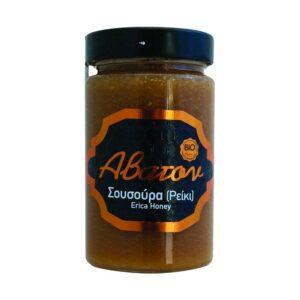 Μέλι σουσούρα ρέικι, 400gr, abaton, orange bio
