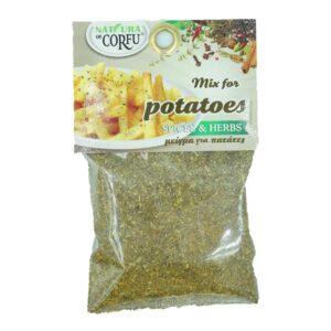 Μείγμα για πατάτες τηγανιτές 50gr naturals of corfu orange bio