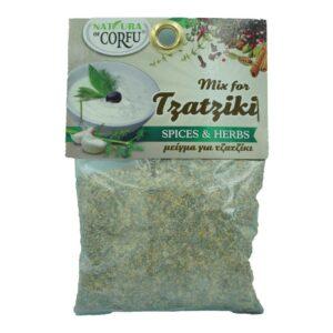 Μείγμα για τζαντζίκι 70gr naturals of corfu orange bio