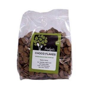 Νιφάδες δημητριακών με σοκολάτα, 250gr, Βιοαγρός, orange bio