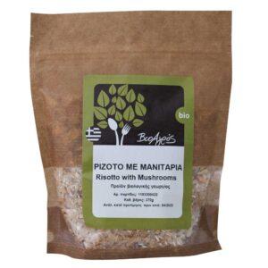 Ριζότο με μανιτάρια, 370gr, Βιοαγρός, orange bio