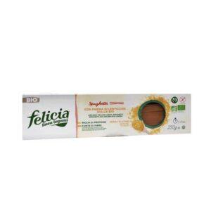 Σπαγγέτι κίτρινης φακής χωρίς γλουτένη, 250gr, Βιοαγρός, orange bio