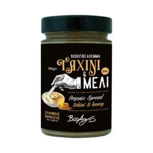 Ταχίνι με μέλι, 280gr, Βιοαγρός, orange bio