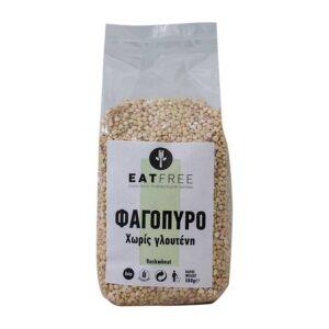 Φαγόπυρο χωρίς γλουτένη, 500gr, eat free, orange bio