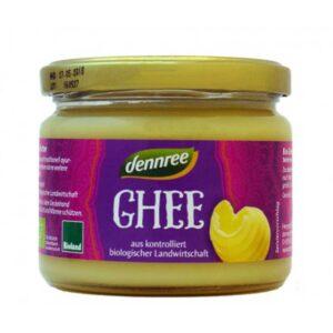 Βούτυρο ghee, 240gr, dennree, orange bio