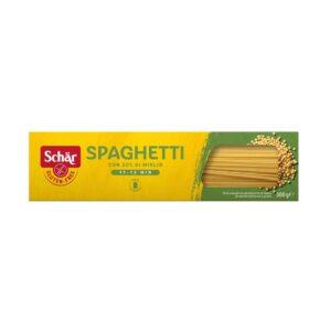 Σπαγγέτι χωρίς γλουτένη, schär, 500 gr, orange bio
