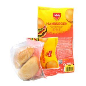 Αφράτα ψωμάκια για hamburger χωρίς γλουτένη, schar, 300gr, orange bio