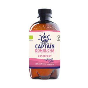 Βιολογικό-ρόφημα-τσαγιού-με-γεύση-βατόμουρο,-Captain-Kombucha,-400ml,-Orange-Bio