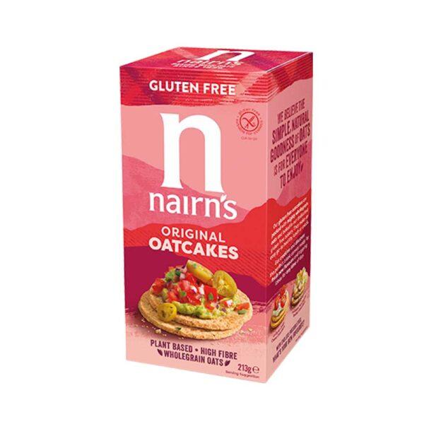 Μπισκότα βρώμης χωρίς γλουτένη, nairn's, 213gr, orange bio