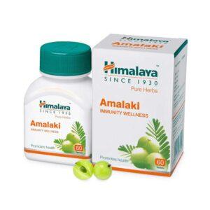 amla c (amalaki) σε κάψουλες, himalaya, 60 caps, orange bio