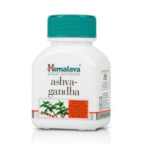 ashvagandha σε κάψουλες, himalaya, 60 caps, orange bio